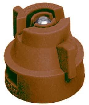TeeJet XRC8005-VS Extended Range Spray Tip, 0.37-0.73 GPM, 15-60 psi, Stainless Steel - Brown