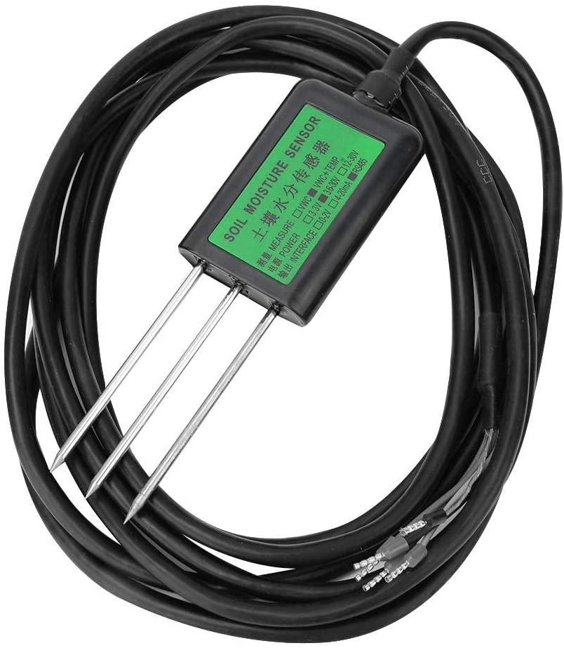 Soil Moisture Sensor, 485 Type Accurate Soil Moisture Sensor Moisture Content Tester Detector Testing Tool for Greenhouse, Soil