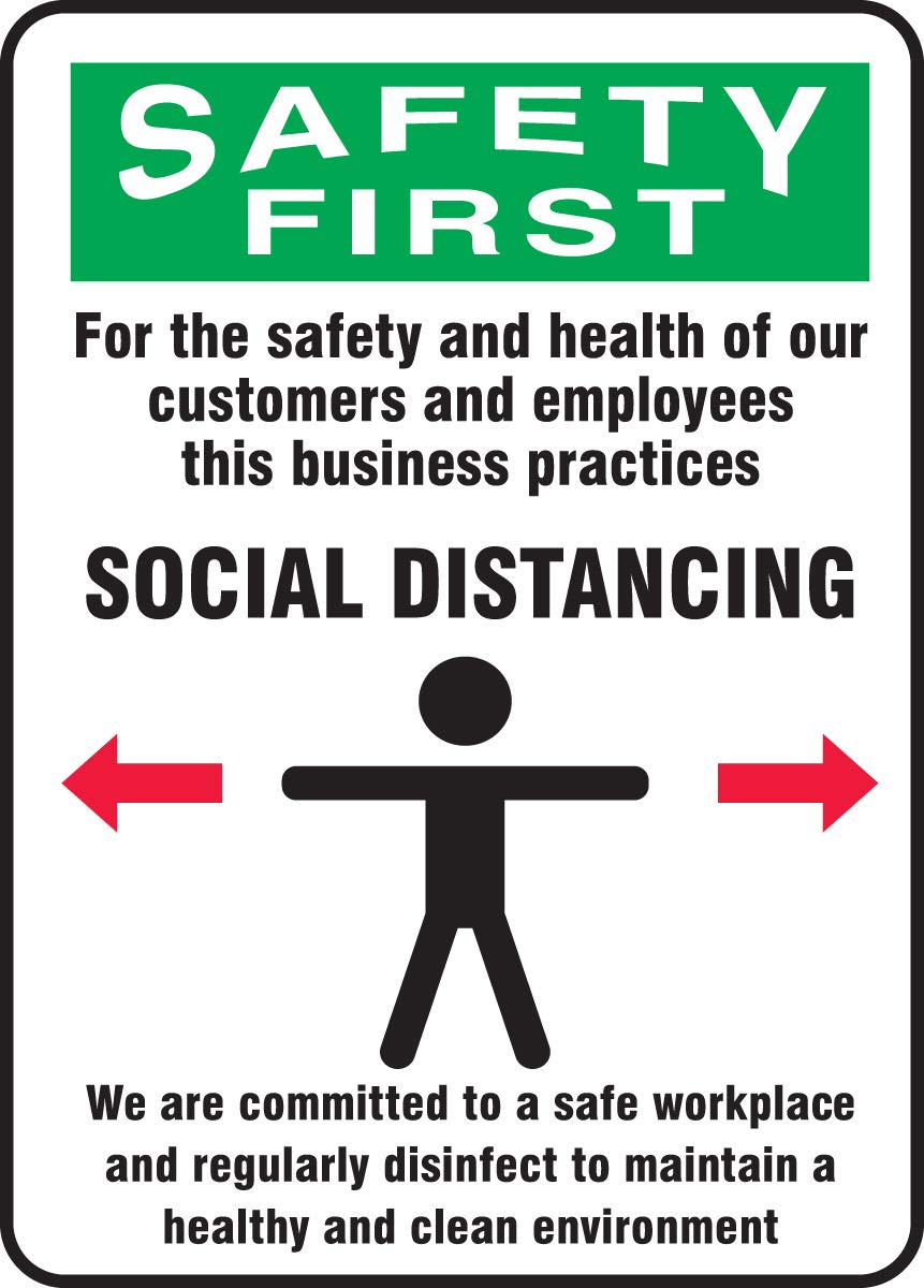 Accuform Safety Sign