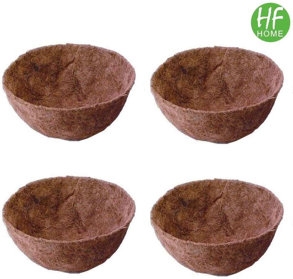 4PCS 14 Round Coco Liner HFHOME Coco Fiber Replacement Liner