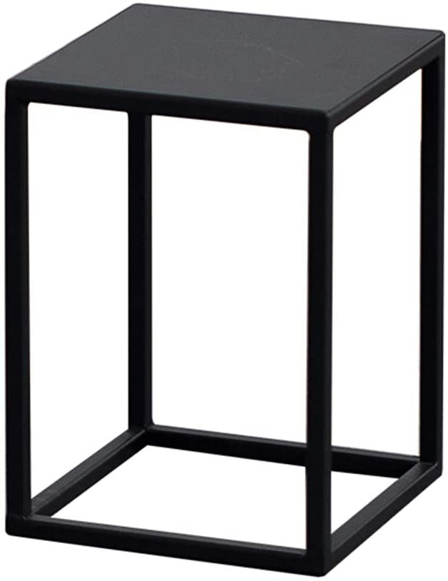 Flower Pot Stand Plant Stand Flower Rack Stand Flower Pot Display Stand-Nordic Wrought Iron Living Room Balcony Floor-Standing Flower Stand LEBAO (Color : Black, Size : 60cm)