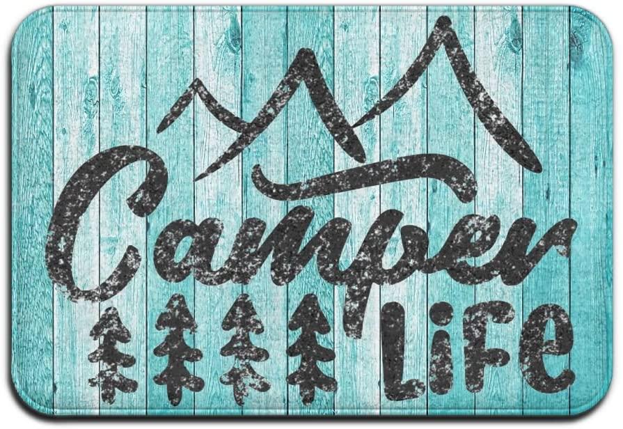 HLive Funny Camper Life Camping Doormat - 23.6