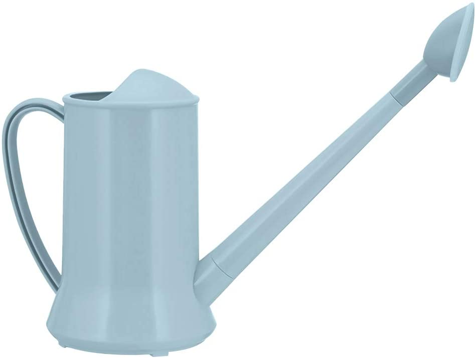 VASTAIR 2L Watering Can Long Mouth Sprinkler Kettle Watering Pot Bonsai Garden Plant Flower Garden Sprinkling Pot(Blue)
