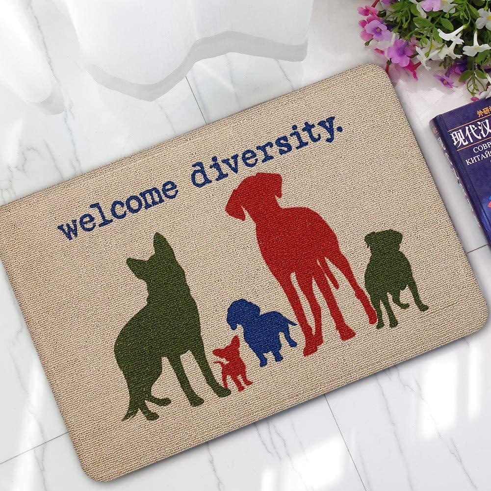Braided Super, Letter Funny Welcome Home Entrance Floor Rug Nonslip Doormat Outdoor Mat, Carpet