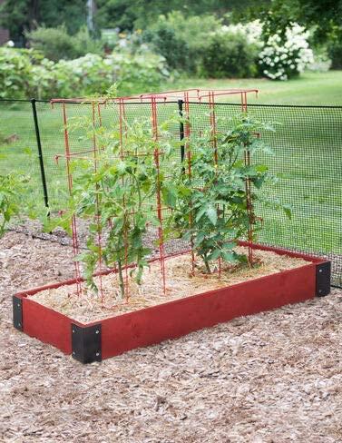 Prestained Raised Garden Bed (46