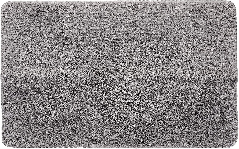 Indoor Doormat Front Door Mat Non Slip Rubber Backing Super Absorbent Mud and Snow Magic Dirts Trapper Mats Entrance Door Rug Shoes Mat Machine Washable Carpet - Grey, 20