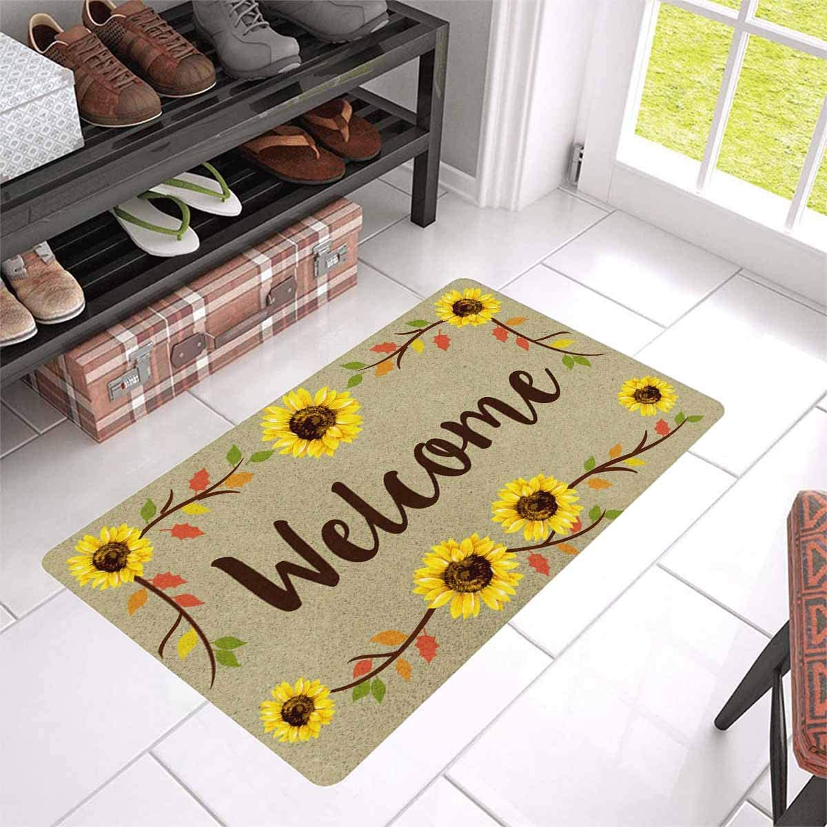 MyPhotoSwimsuits Custom Your Own Text Funny Personalized Doormat 30