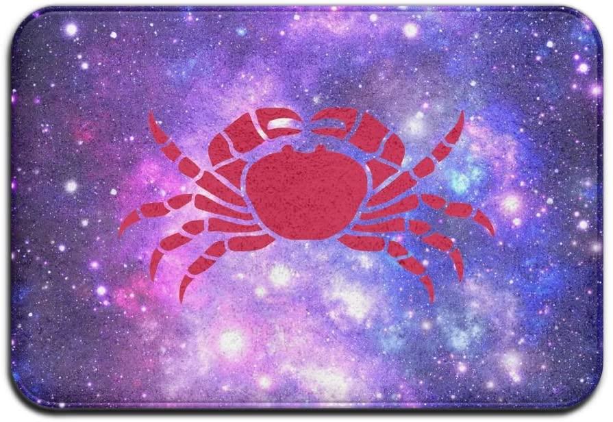 HLive Funny Red Crab Doormat - 23.6
