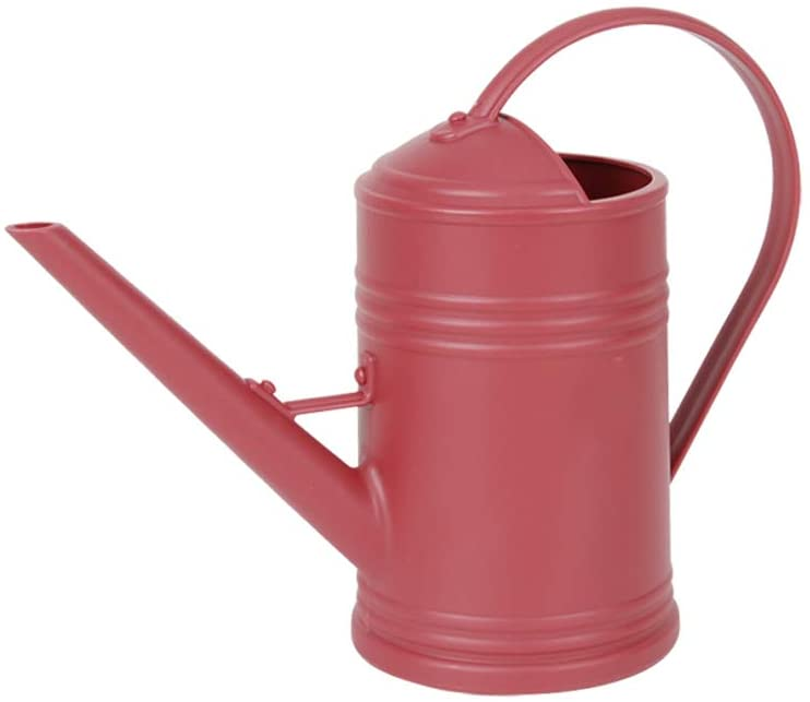 Layboo Thickening Resin Watering Can Indoor Long Spout 1L Spriking Can (Purplish red)