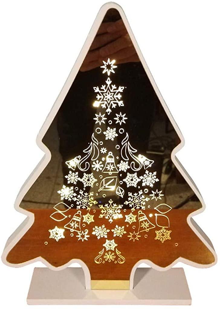 Home Christmas Decoration Gift Christmas Tree Shape Modeling Lights Christmas Decoration Not Dazzling