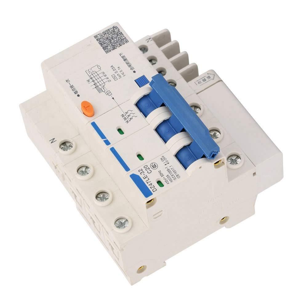 Circuit Breaker,Current Circuit Breaker Protection,Leakage Protection Circuit Breaker,for Home Decoration, Engineering Construction, Rural Network Transformation