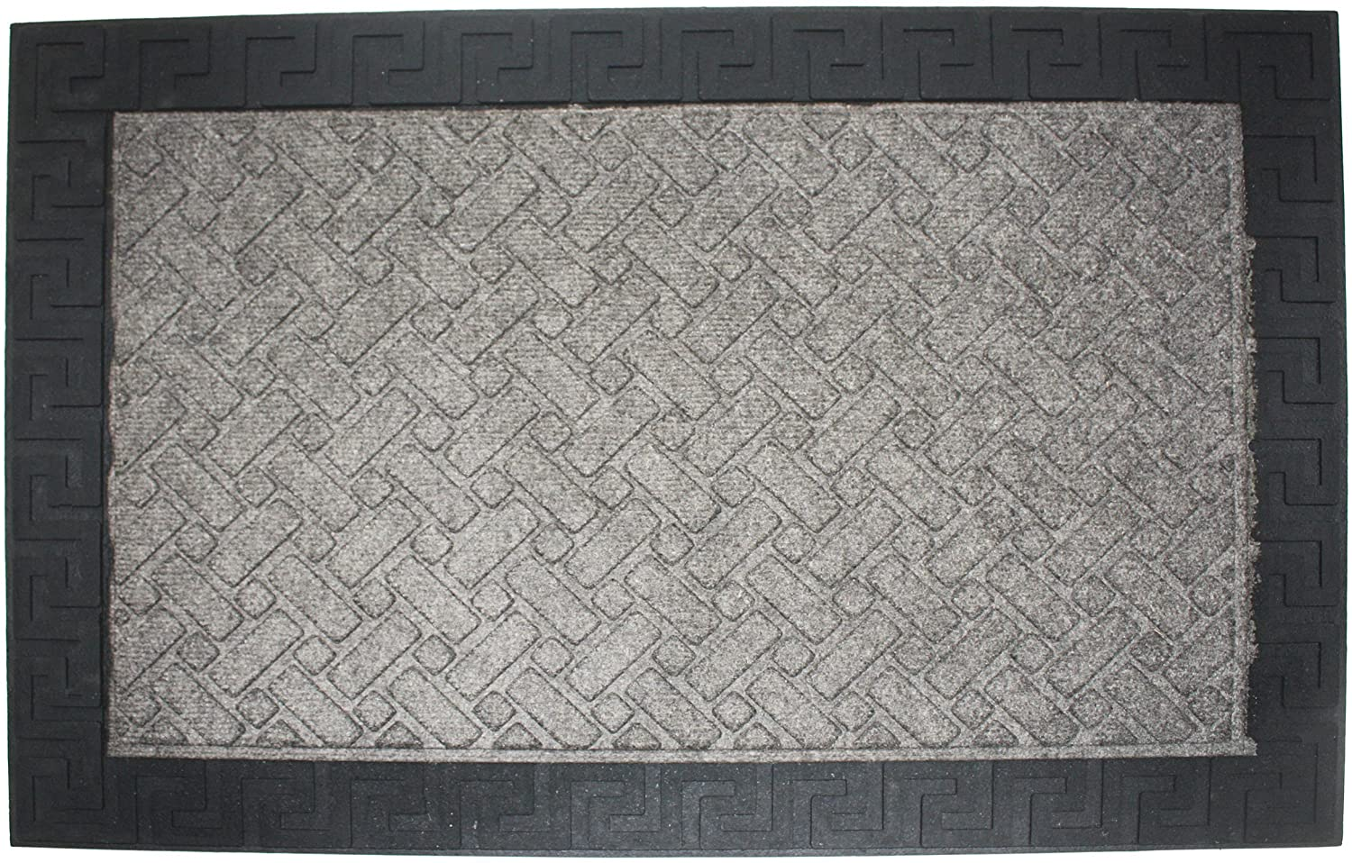 DII Durable Low Profile, Pet Friendly Indoor/Outdoor Doormat for Home or Commercial Use, 24x36, Charcoal Utility Mat