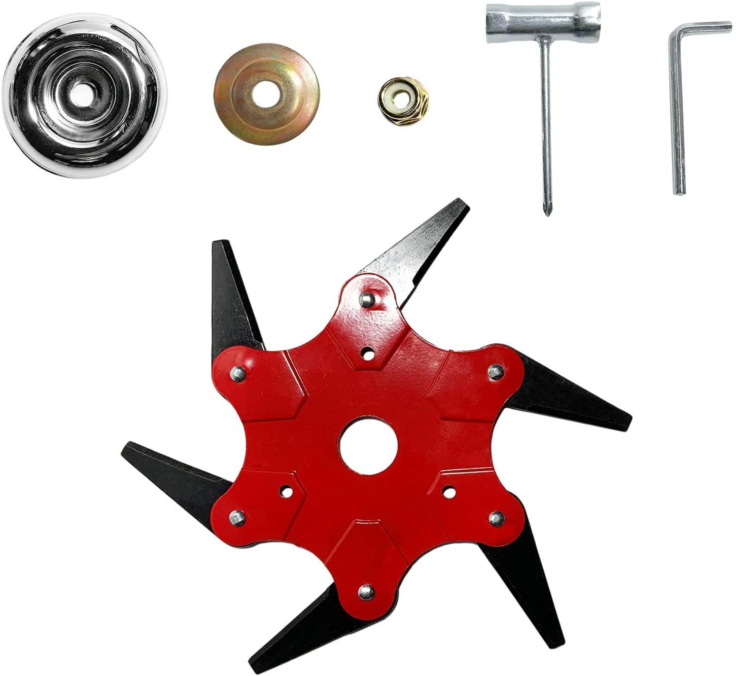 SQG 6 Teeth Trimmer Head Enhanced Version Trimmer Head(Trimmer Head+ Adapter)