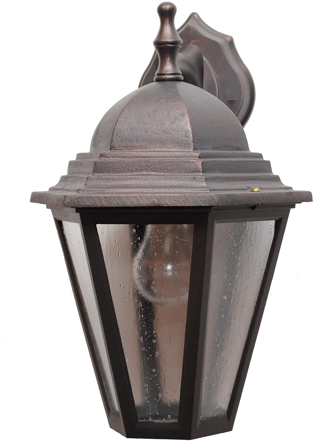 Melissa Lighting K215006 Traditional Outdoor Wall Mount from Kiss Lighting Collection in Bronze/Darkfinish