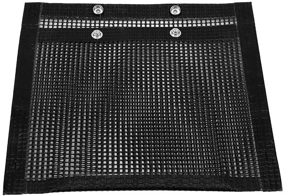 Ichiias Grill Mat Non-Stick BBQ Bake Bag Heat-Resistant Mesh Grilling Bag Outdoor Panic Tool(2227cm)