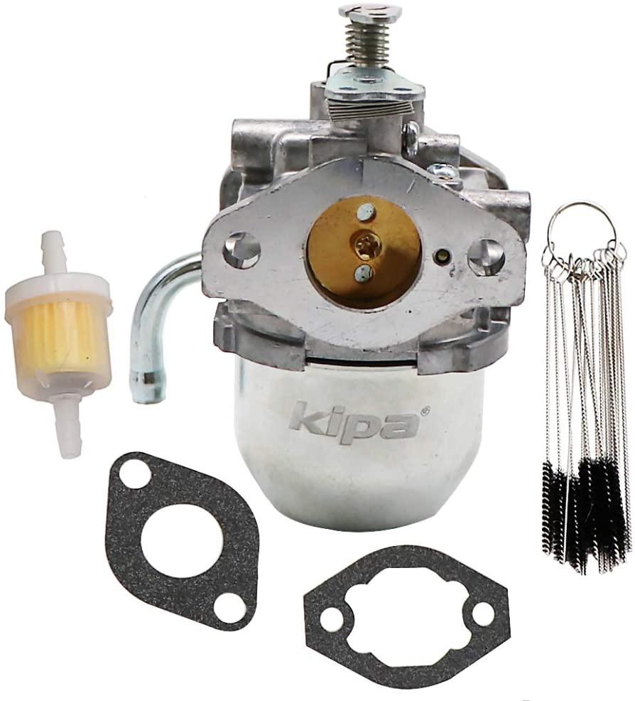 KIPA Carburetor for Generac 090881A 090881B 86707 CMV6-B20:220 RV 00940-2 Generator NP-30G NP-36G Impact-36G 0661-4 0661-5 0802-0 0802-3, with Mounting Gaskets Carbon Dirt Jet Cleaner Tool Kit