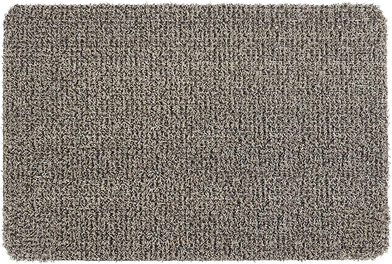 CLEAN MACHINE 10376623 GrassWorx Astroturf Dirt Trapper Doormat, 23.5 x 35.5, Flair Earth Taupe, 23.5x35.5