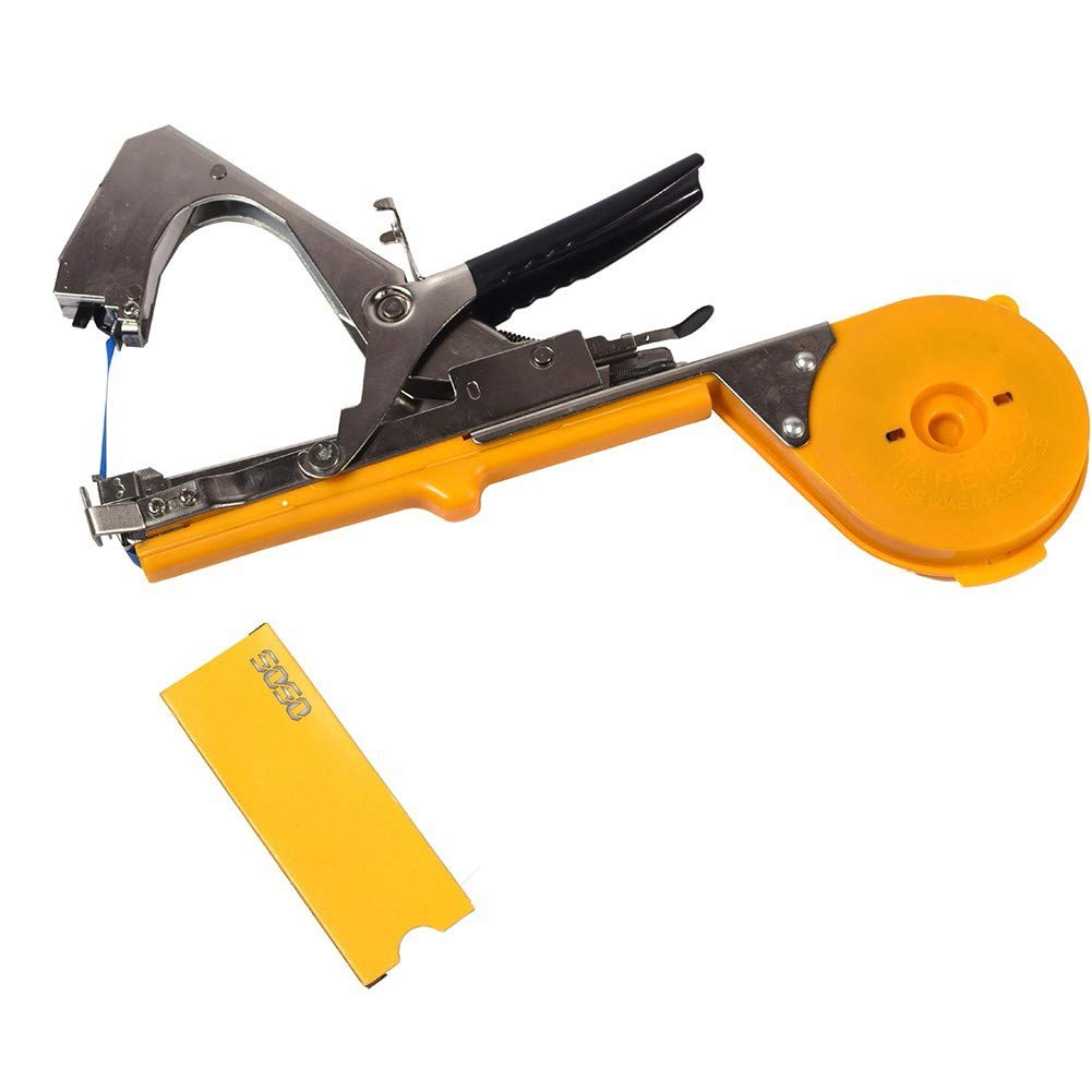Plant Tying Tapetool, Plant Branches Vine Tying Tool Plant Tying Binding Machine for Vegetable Grape Tomato (Without Straps and Nails)