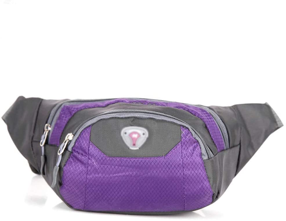 Chest Bag Diagonal Bag Messenger Bag Multi-Function Pocket Fanny Pack Large-Capacity Pockets Unisex Waist Pack Sports