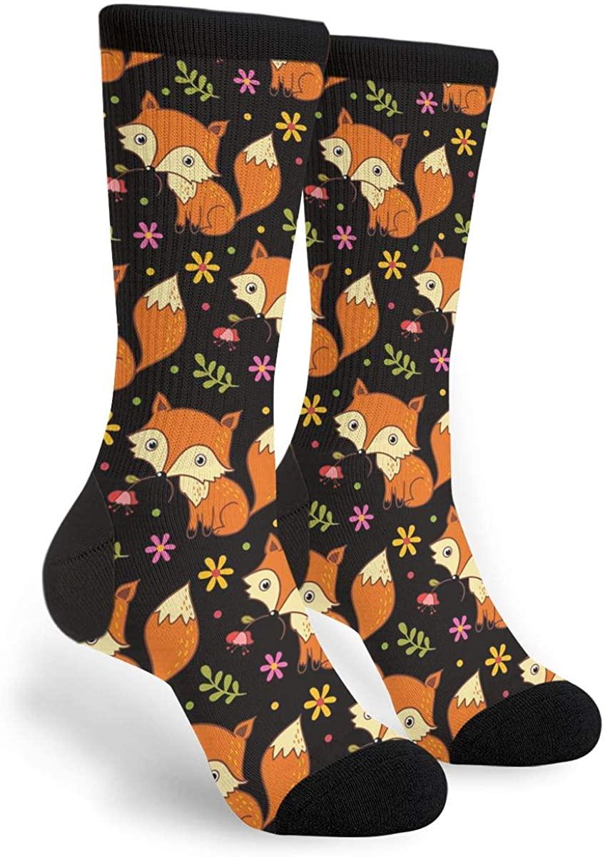 Flying Pig Socks Women & Men Breathable Novelty Moisture Control Running Crew Socks