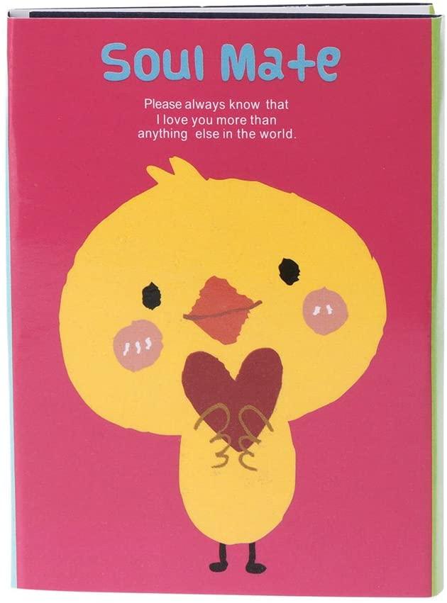 minansostey Cute Cartoon Animal Sticky Note Memo Pad Notebook Label Stationery Gift