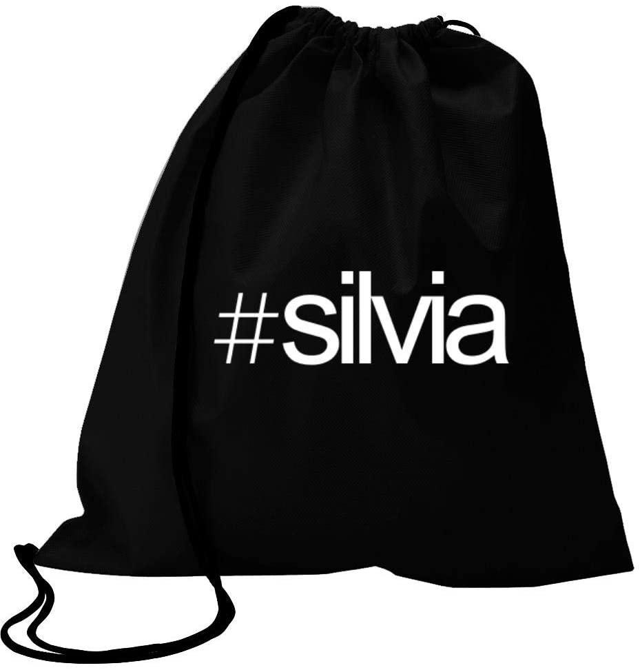 Idakoos Hashtag Silvia Bold Text Sport Bag 18