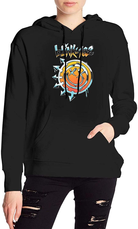 AP.Room Ladies Hooded Blink-182 Polyester Sweatshirt Casual Fashion Woman's Hoodie