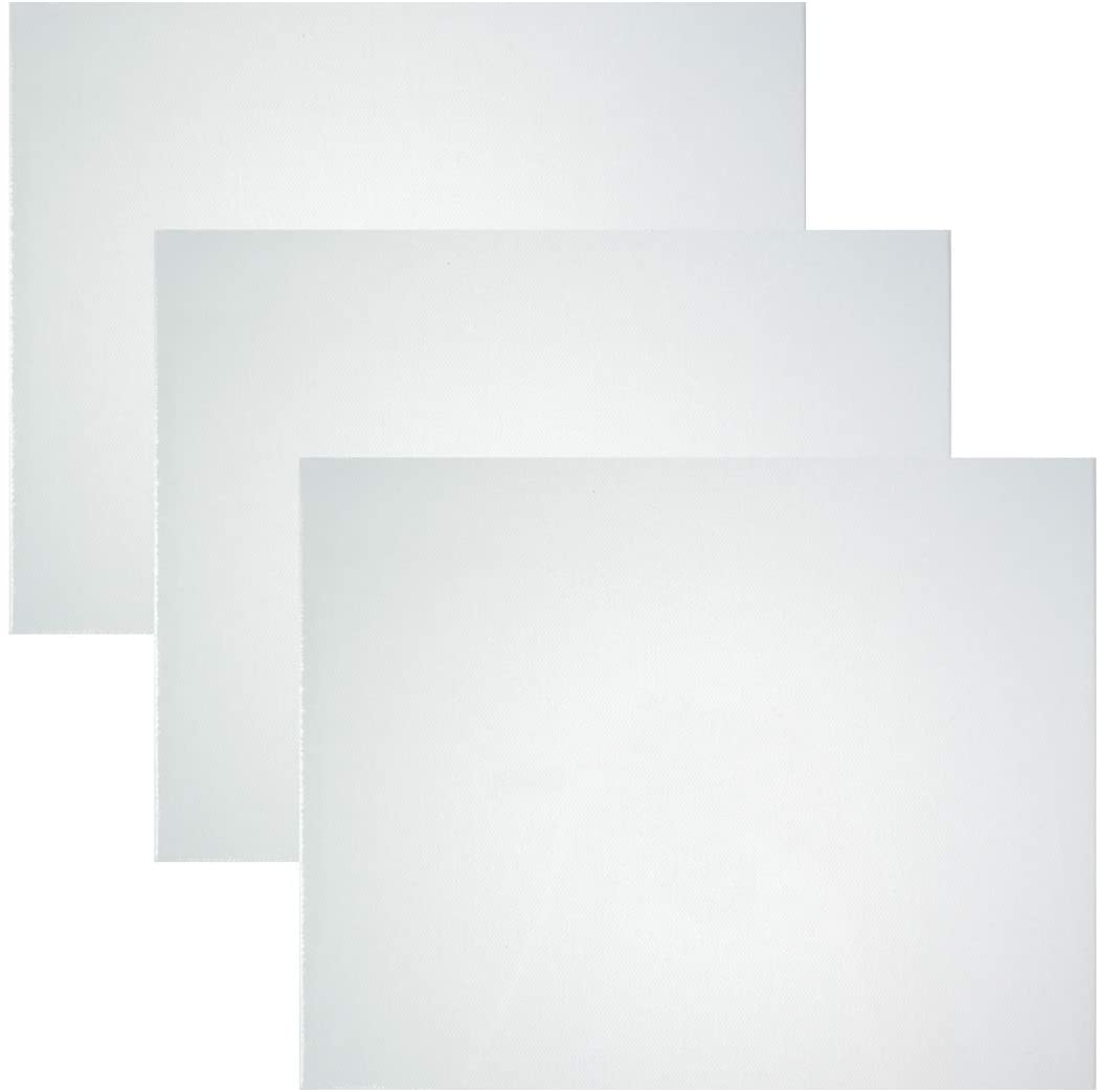 Art Advantage 5-Inch by 7-Inch Canvas Board, 3-Pack (1230-05)