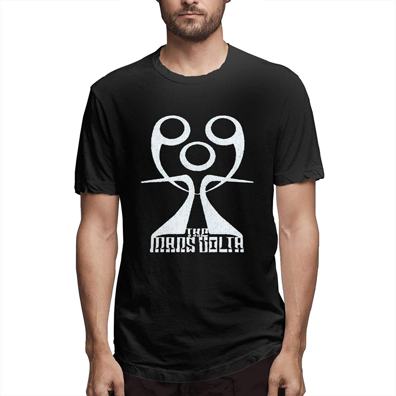 The Mars Volta Men's T-Shirt Novel Fashion Black Round Neck Cotton Comfortable T