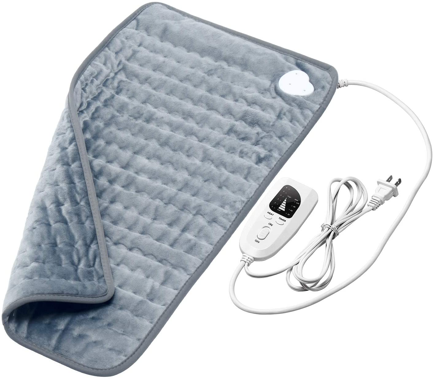 Heating Pad for Back Pain Relief - Electric Heat Therapy Blanket 12
