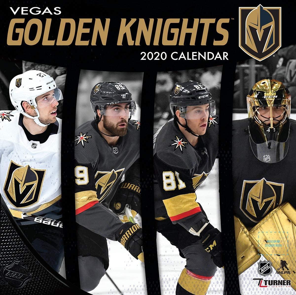 Vegas Golden Knights 2020 Calendar