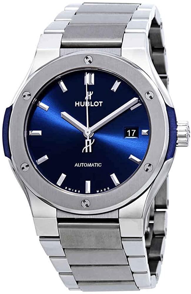 Hublot Classic Fusion Automatic Blue Dial Men's Watch 548.NX.7170.NX