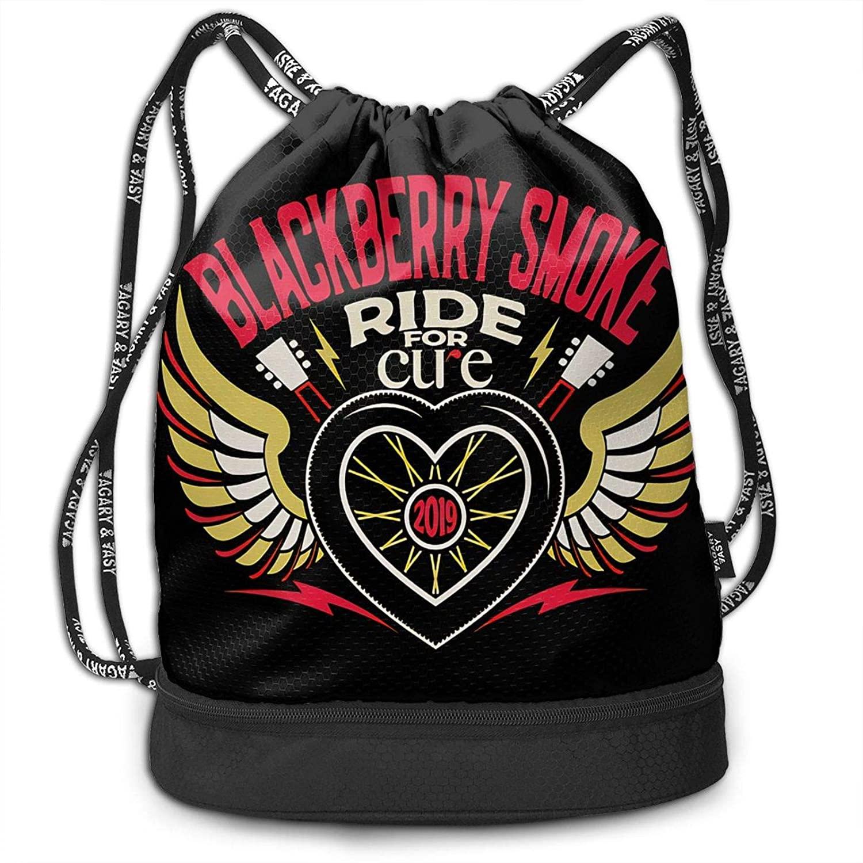 Fashion Boutique BlackBerry Smoke Unisex Bundled Backpack Leisure Backpack
