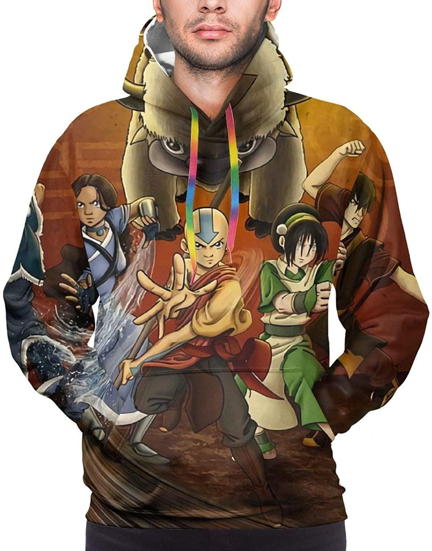 Avatar The Last Airbende Aang Katara Sokka Appa Momo Hoodies Man Sweatshirt