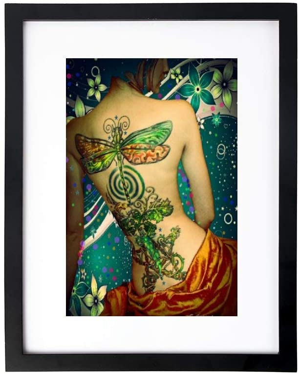 yyone Framed Paintings,Wall Decoration,Framed Paintings for Bedroom&Living Room,Spring Goddess,Home/Office Wall Art Decor Wooden Frames 9x13 Inches