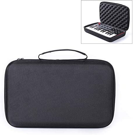 Store EVA Universal Instrument Keyboard Bag Thickened Waterproof Electronic Cover Case for Mini Computer Keyboard.