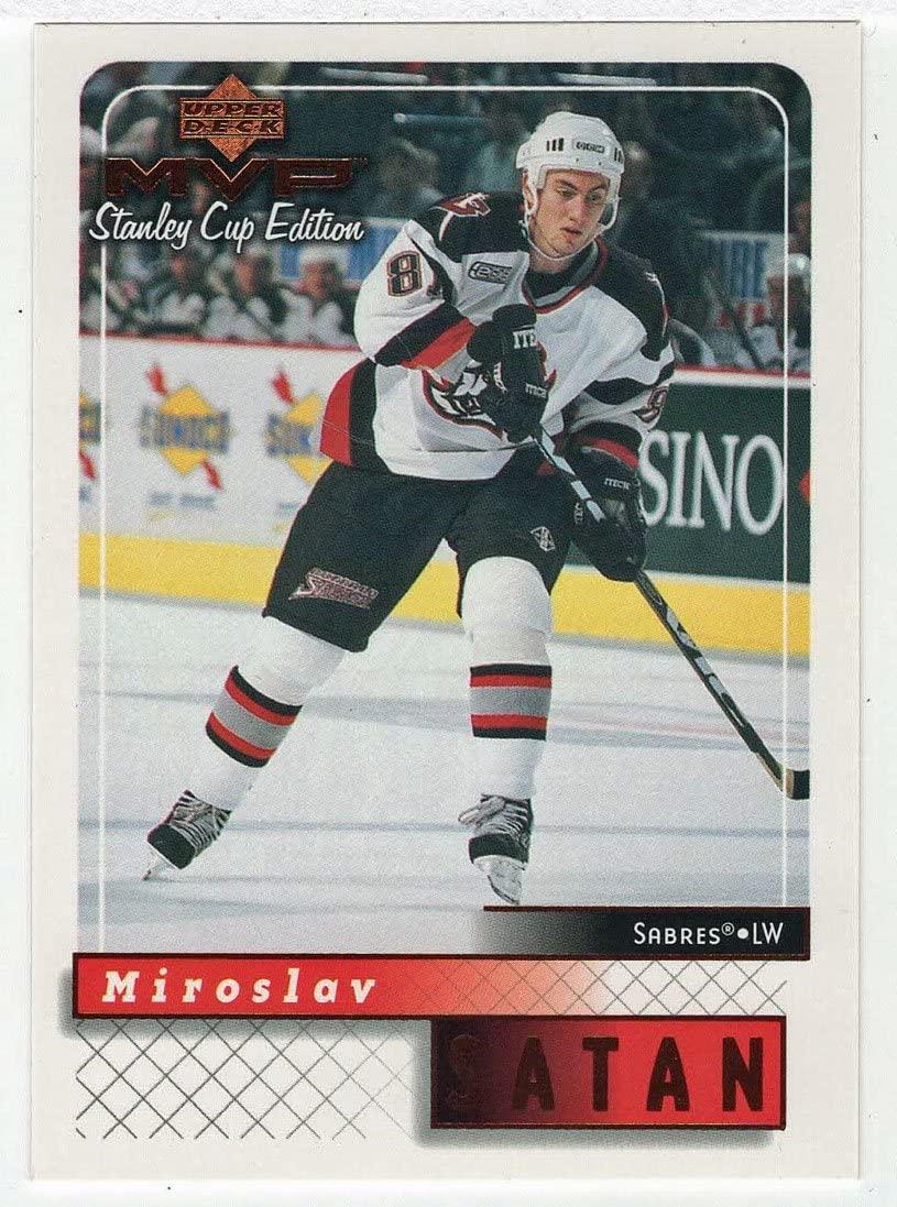 Miroslav Satan - Buffalo Sabres (Hockey Card) 1999-00 Upper Deck MVP Stanley Cup Edition # 23 Mint