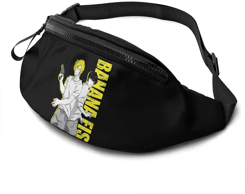ATSH Banana Fish Fanny Pack Running Waist Pack Bag Casual Super Lightweight Fanny Pack for Unisex