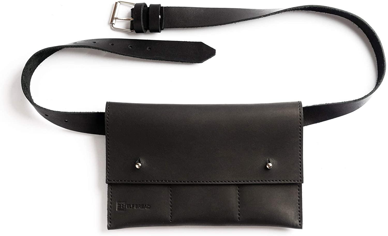 Elf Bread 4.4 - Belt Bag/Waist Bag/Fanny Pack/Leather/Unisex/Handmade