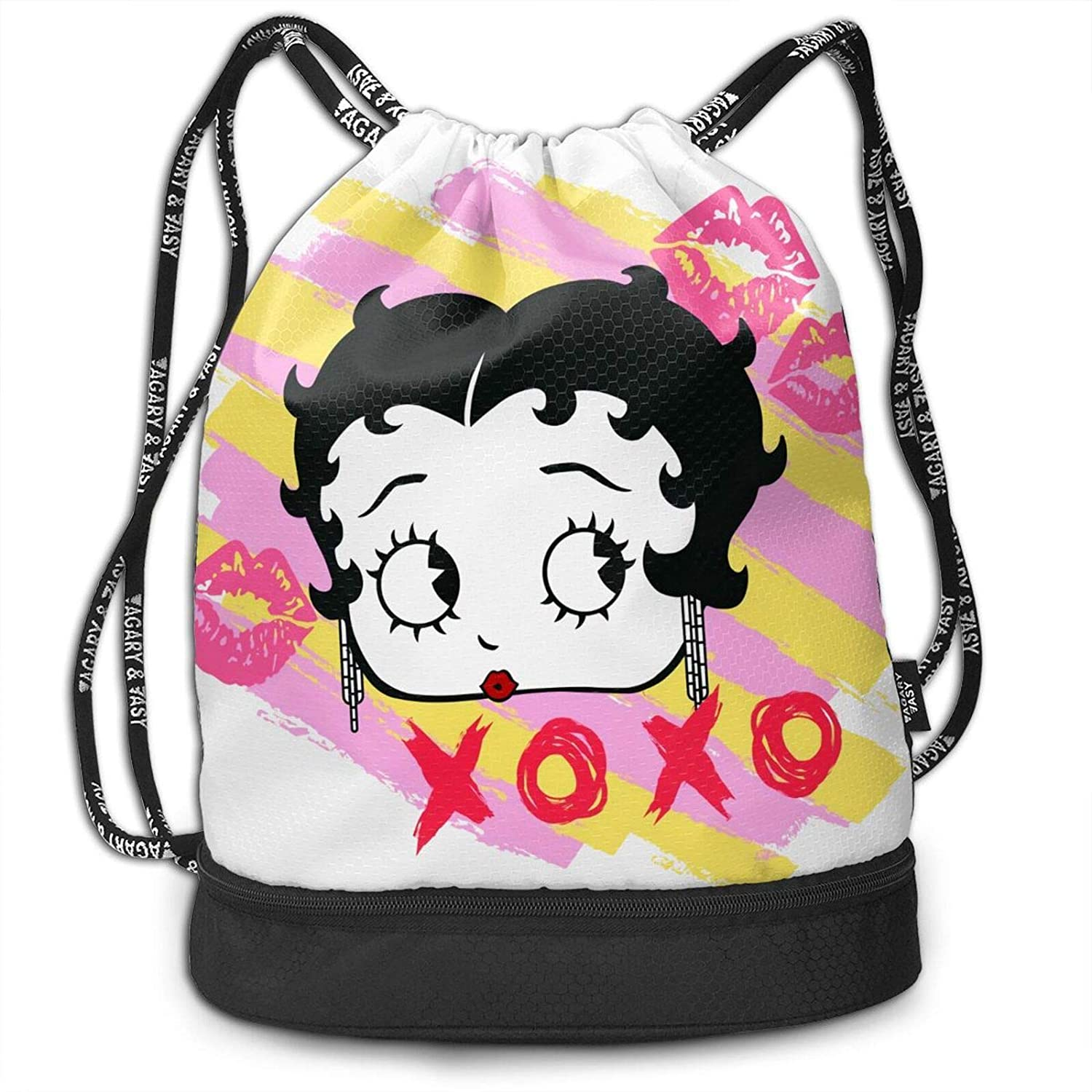 Fashion Boutique Be-Tty Boop Unisex Bundled Backpack Leisure Backpack