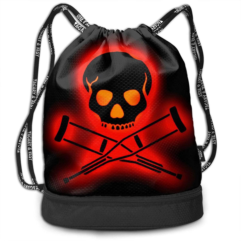 Fashion Boutique Jackass Unisex Bundled Backpack Leisure Backpack