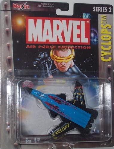 Marvel Maisto Ultimate Air Force Cyclops Su 47 Airplane Diecast X-Men Plane
