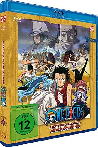 One Piece - 8. Film: Abenteuer in Alabasta - Die Wüstenprinzessin [Blu-ray] [2007]