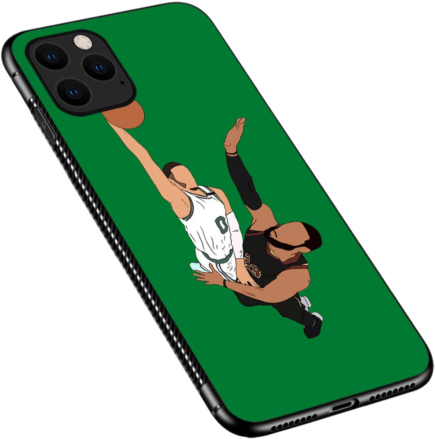 iPhone 12 Pro Case,Basketball Competiton iPhone 12 Pro Cases for Girls Boys,Pattern Design Shockproof Non-Slip Case for Apple iPhone 12/12 Pro