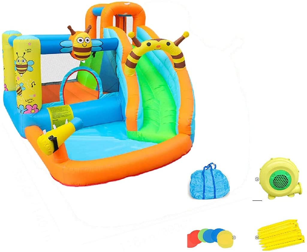 Garden Inflatable Water Park for Toddlers Outdoor Backyard Lawn Kids Inflatable Water Slide Park
