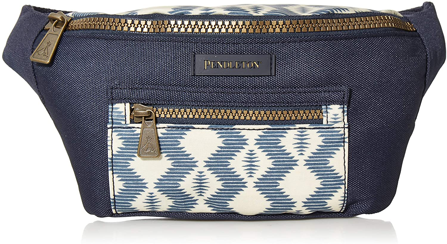 Pendleton Women's Canopy Canvas Waist Pack, Zigzag River, One Size