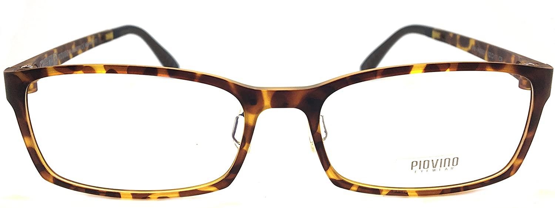 New Piovino Prescription Eye Glasses Frame Ultem Super Light, Flexible PV 3001 C9