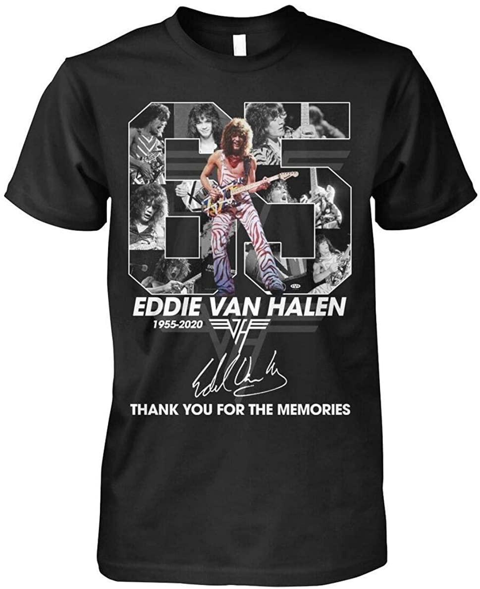 Ed die Van H.alen 1955-2020 Thank You for The Memories t-Shirt