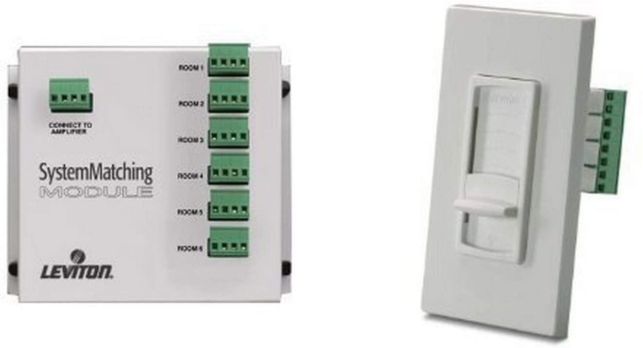 Leviton Spec-Grade - System Matching Module & Volume Controls Bundle