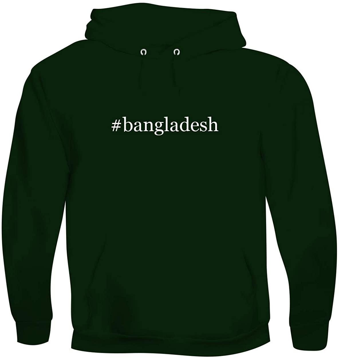 #bangladesh - Men's Hashtag Soft & Comfortable Hoodie Sweatshirt Pullover